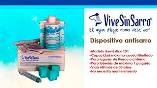 Eliminador Pro De Sarro Para Tubería Doméstica Vss Td1