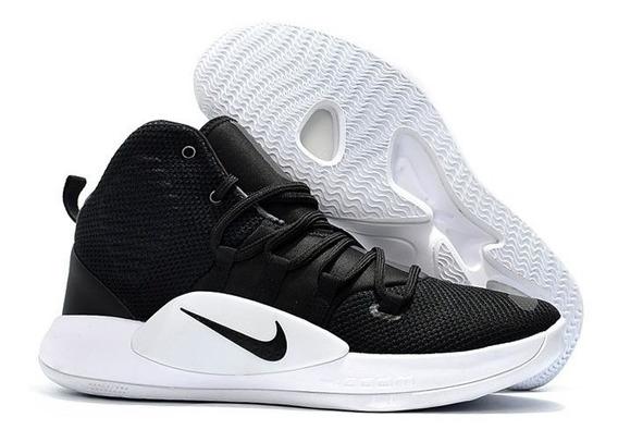 Nike Hyperdunk X Black Basquetbol Hombre Bota Mayma Sneakers