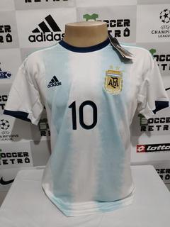 Camisa Argentina Copa America 2019 Messi 10