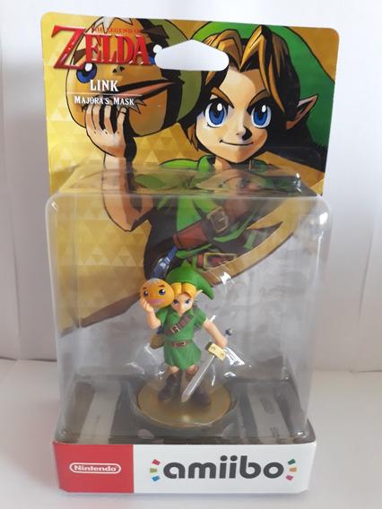 Amiibo Link Majora Mask Legend Of Zelda Switch Wiiu Majoras