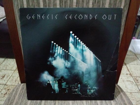 Lp/vinil- Genesis - Seconds Out-disco Duplo/capa Dupla
