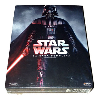 Star Wars - La Saga Completa Bluray (9 Discos)