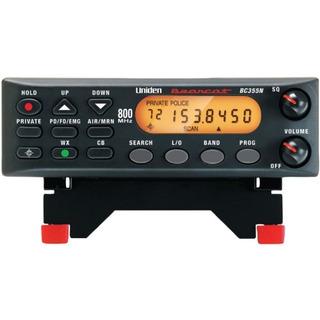 Escáner Móvil Base Uniden 800 Mhz De 300 Canales (bc355n)