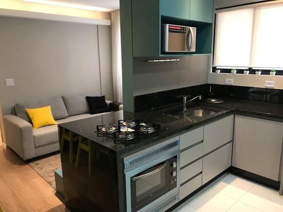 Apartamento Decorado Da Construtora Novo Com 1 Dormitório!!