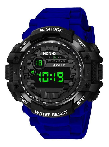 Relógio Digital Multifunções Honhx Sports Eletronic Kids Stu