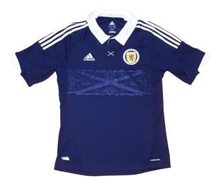 Camisa Futebol Oficial Seleção Escócia 2012 Home adidas Gg