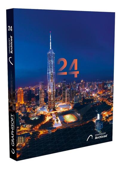 Archicad 24 Br/ Ing + 30gb Bibliotecas - Lançamento 2020