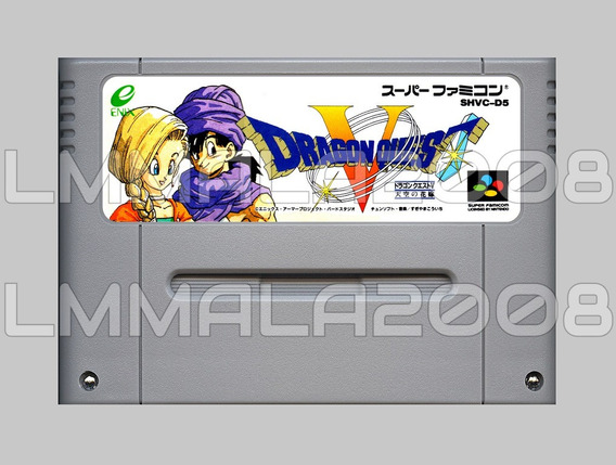 Dragon Quest V 5 Original Ingles Snes Super Nintendo