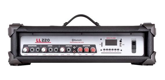 Cabeçote Amplificado Multi-uso 50w Com Usb Ll220 Ll Áudio