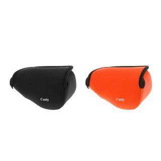2pcs Bolsa De Cámara De Neopreno Para Sony A6000 16-50mm Le