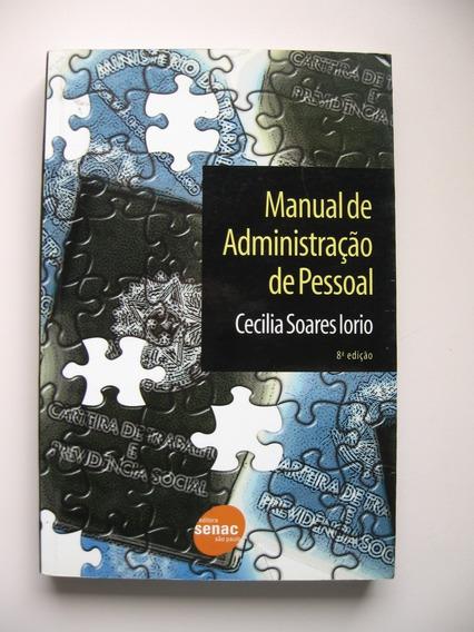 Manual De Administração De Pessoal - Cecilia Soares Iorio