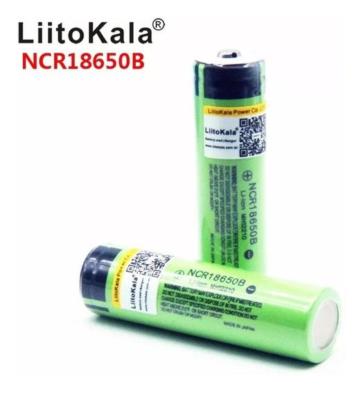 1 Pilha Ncr18650b Liitokala 3.5v Original Envio Imediato