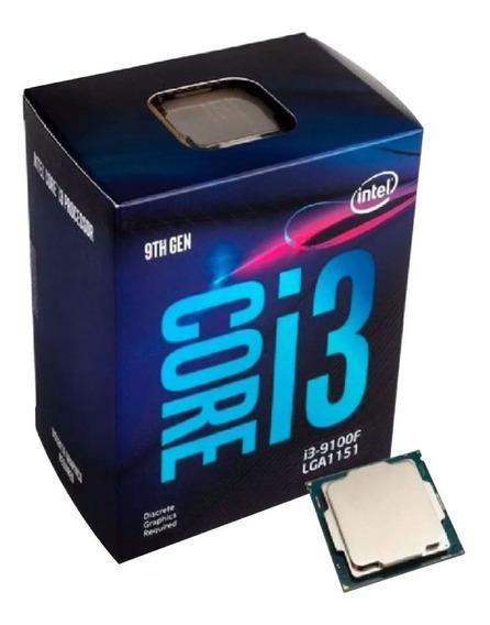 Procesador Intel Core I3 9100f 9th Gen 4.2ghz 4 Núcleos 6c