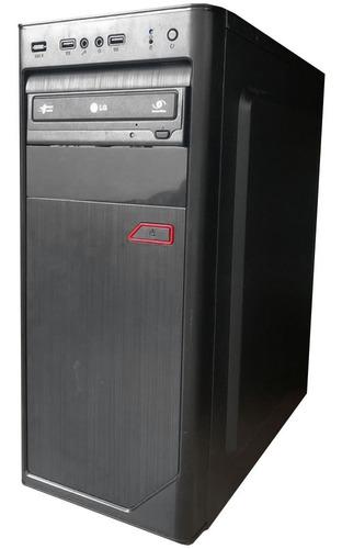 Desktop Pc Gamer I3 7a Ger 16gb Ram Rx580 8gb Ssd 240 + 500g