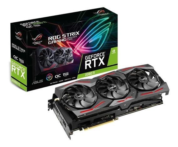 Placa De Video Geforce Rtx 2080ti 11gb Asus Strix Gaming