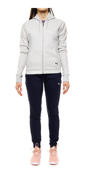 Conjunto Deportivo Puma Clean Sweat Suit Cl - 854100/04