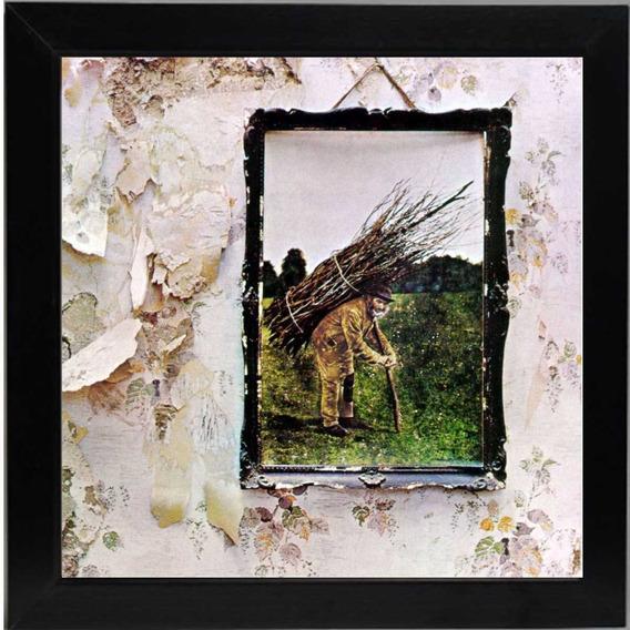Quadro Led Zeppelin Iv Quadro Lp Capa Do Disco De Vinil