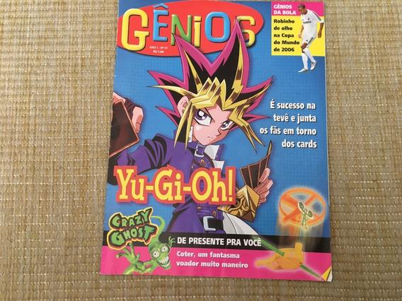 Revista Gênios 47 Yu-gi-oh Cards Coter Crazy Ghost L729