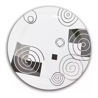 Set 12 Platos Hondos Redondos Melamina Con Diseños Plato Para Sopa Plástico Resistente Aptos Microondas - 22,5 Cm