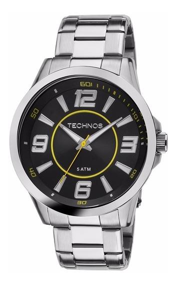 Relógio Technos Prateado Masculino 2036lnw/1y