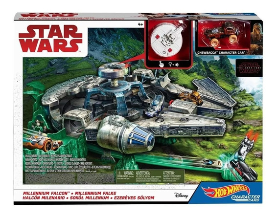 Hot Wheels Mattel Star Wars Millennium Falcon spaceship CGW52 Disney