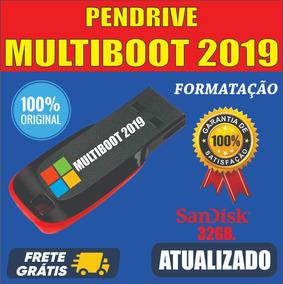 Kit Para Técnicos De Informática / Pen Drive Multiboot 32gb.