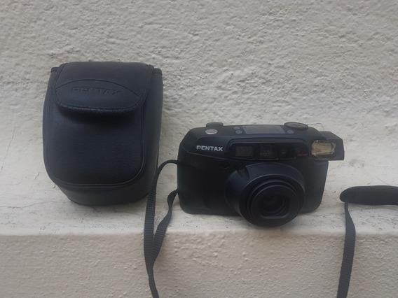 Câmera Pentax Espio 160 No Estado Leia Descrição