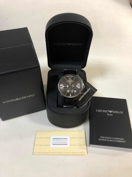 Relógio Emporio Armani Ar2454 Com Caixa E Garantia