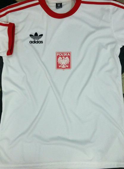 Camiseta Retro Polonia Alternativa 1978
