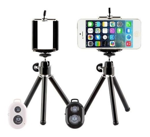 Mini Tripé Retrátil 360 Para Celular E Camera