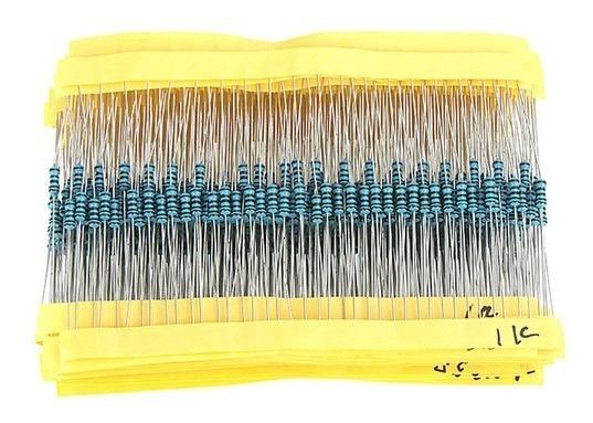 Kit De Resistores 1/4w X400 Unidades 20 Valores