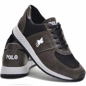Tenis Polo Sport Plus Masculino Feminino Barato Jogger Promo