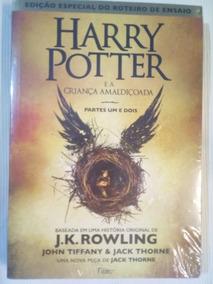 Livro Harry Potter E A Criança Amaldiçoada Parte 1 E 2