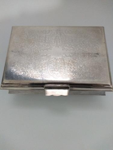 Caixa Porta Jóias De Prata Bellini (antiga)