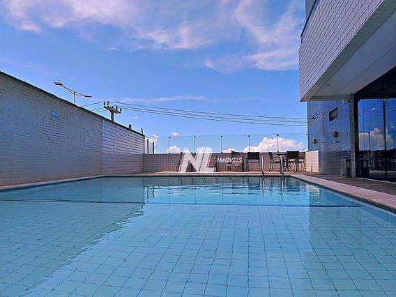 Flat Residencial Para Alugar Em Areia Preta Com 35 M² Por R$ 3.000/mês - Areia Preta - Natal/rn - Ap0579