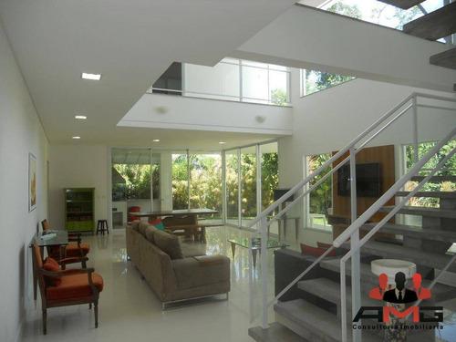 Casa Com 6 Dormitórios À Venda, 520 M² Por R$ 4.500.000,00 - Riviera - Módulo 24 - Bertioga/sp - Ca0743