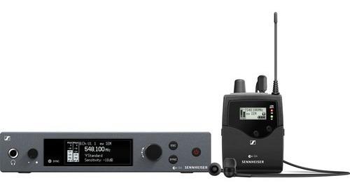 Sennheiser Ew Iem G4-ai Com 1 Fone Ie 4 - Lj. Platinum