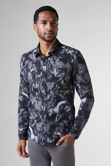 Camisa Regular Caos Reserva