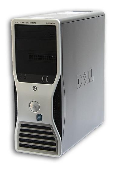 Cpu Workstation Dell T3500 Xeon E5620 8gb Hd 320gb Com Garantia Nota Fiscal E Frete Grátis