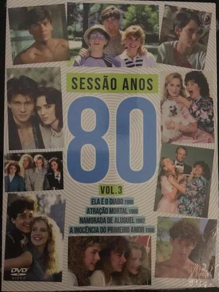 Sessão Anos 80 - Namorada De Aluguel + 3 Dvds