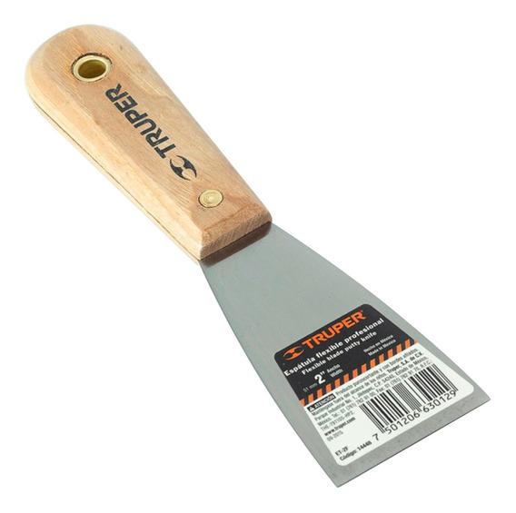 Espatula Tapizadora Durlock Acero 2 Truper 14448 51mm