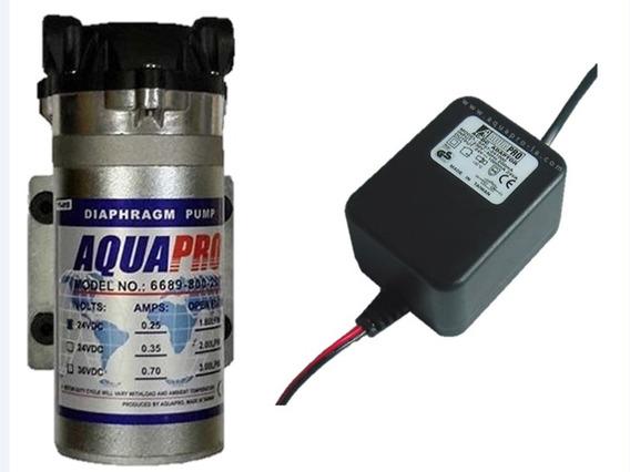 Bomba Y Transformador Aquapro Osmosis Inversa 50-100 Gpd
