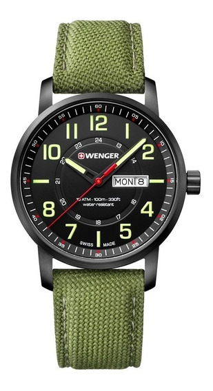 Relógio Wenger Attitude Verde 01.1541.104