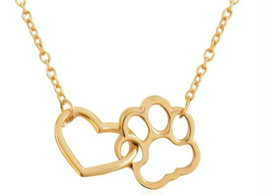 Hermoso Collar Con Dije De Amor Canino, Mascota Perro Amor G