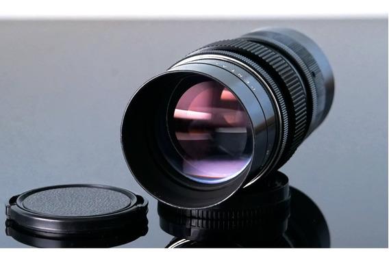 Lente Pentacon 135mm\15laminas Bokeh-monster-mount Sony E