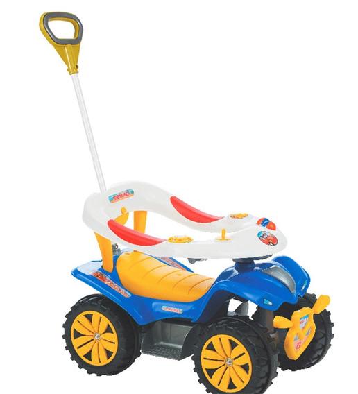 Empurrador Carrinho De Passeio Quadriciclo Triciclo Infantil