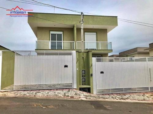Casa Com 3 Dormitórios À Venda, 132 M² Por R$ 569.000,00 - Jardim Jaraguá - Atibaia/sp - Ca4205