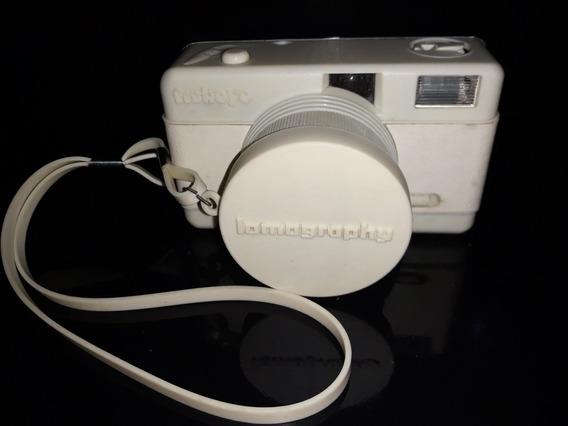 Máquina Câmera Fotográfica Analógica Lomography Fisheye Bran