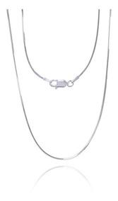 Corrente Rabo De Rato Diamantadcom 45cm Em Prata 925 - 3.0gr