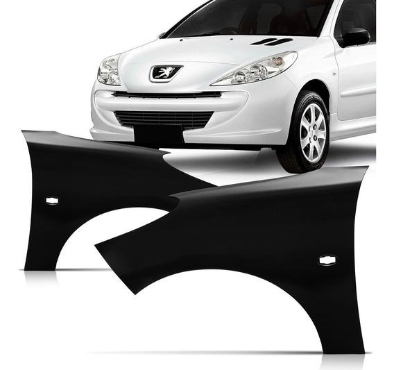 Paralama Peugeot 207 2008 2009 2010 2011 2012 2013